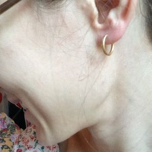 Vintage Jewelry - Mini Holden Gypsy Hoop Earrings
